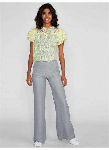 Vekem-Limited Edition Pantolon Gri